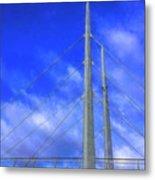 The Frienship Bridge Metal Print