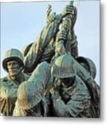 The Front Up Close -- The Iwo Jima Monument Metal Print