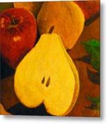 The Fruits Metal Print