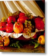 The Fruits Of Caravaggio Metal Print