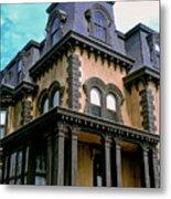 The Fulton Mansion Metal Print