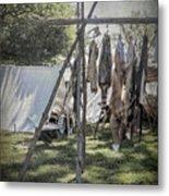 The Fur Trader's Camp 1812 Metal Print
