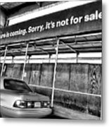 The Future Is Not For Sale Metal Print