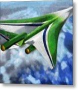 The Future Of Air Transportation Metal Print