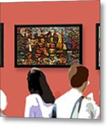 The Gallery Metal Print