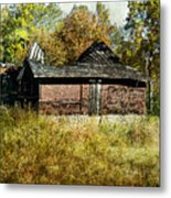The Gallery Is Closed Metal Print