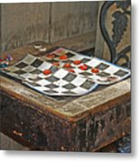 The Game Never Stops Metal Print