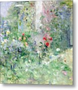 The Garden At Bougival Metal Print by Berthe Morisot