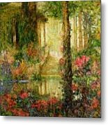 The Garden Of Enchantment Metal Print