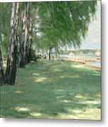 The Garden Of The Artist In Wannsee Metal Print