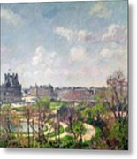 The Garden Of The Tuileries Metal Print