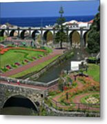 The Gardens Of Ribeira Grande Metal Print