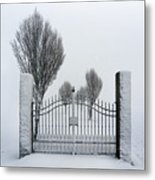 The Gates To Nowhere Metal Print