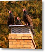 The Gathering Of Vultures Metal Print