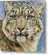 The Gaze Metal Print