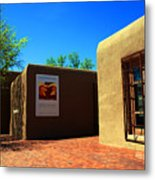 The Georgia O'keeffe Museum In Santa Fe Metal Print