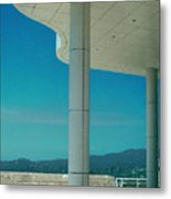 The Getty Panel 2 Of Triptyck Metal Print