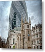 The Gherkin Metal Print by Donald Davis
