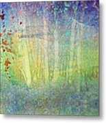 The Ghost Forest Metal Print