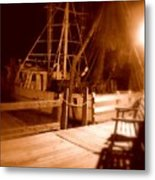 The Ghost Ship Metal Print