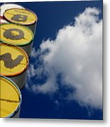 The Giant's Play Ground Metal Print