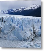 The Glacier Advances Metal Print