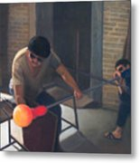 The Glassblowers Metal Print
