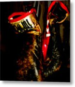 The Gloves Metal Print by Steven  Digman