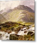 The Glyder Fawr  Metal Print