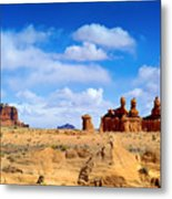 The Goblin Valley Metal Print