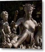 The Goddess Metal Print