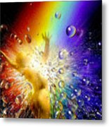The Gold At The End Of The Rainbow Metal Print
