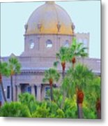 The Gold Dome Metal Print