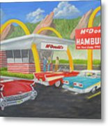 The Golden Age Of The Golden Arches Metal Print