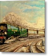 The Golden Arrow Leaves Victoria Metal Print