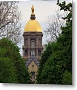 The Golden Dome Metal Print