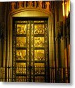 The Golden Door Metal Print