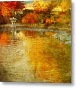 The Golden Dreams Of Autumn Metal Print