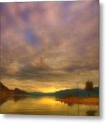 The Golden Glow Of Morning Metal Print
