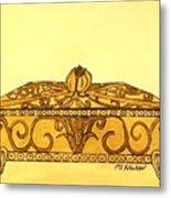 The Golden Jewelry Box Metal Print