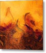 The Golden Tree  Metal Print