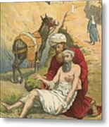 The Good Samaritan Metal Print