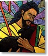 The Good Shepherd - Practice Painting One Metal Print