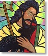 The Good Shepherd - Practice Painting Two Metal Print