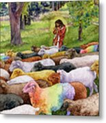 The Good Shepherd Metal Print