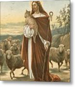 The Good Shepherd Metal Print by John Lawson