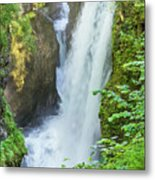 The Gorges Of The Langouette - 4 Metal Print
