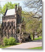 The Gothic Temple In Spring Grove Cemetery Metal Print