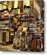 The Grand Bazaar In Istanbul Turkey Metal Print