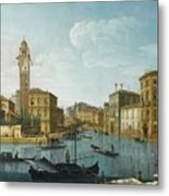 The Grand Canal At The Entrance Metal Print